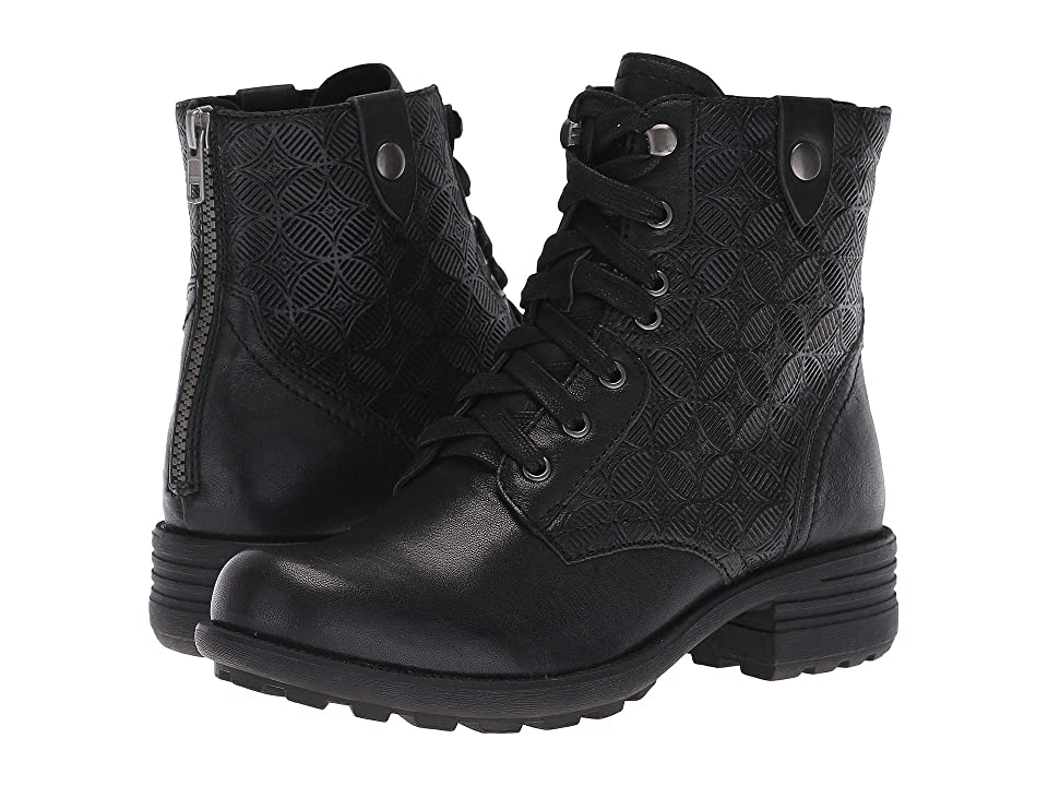 Rockport Cobb Hill Collection Cobb Hill Brunswick Lace Boot (Black Leather) Women