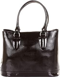 Italian Patent Leather Large Hand Made Tote Grab Bag Handbag or Shoulder Bag
