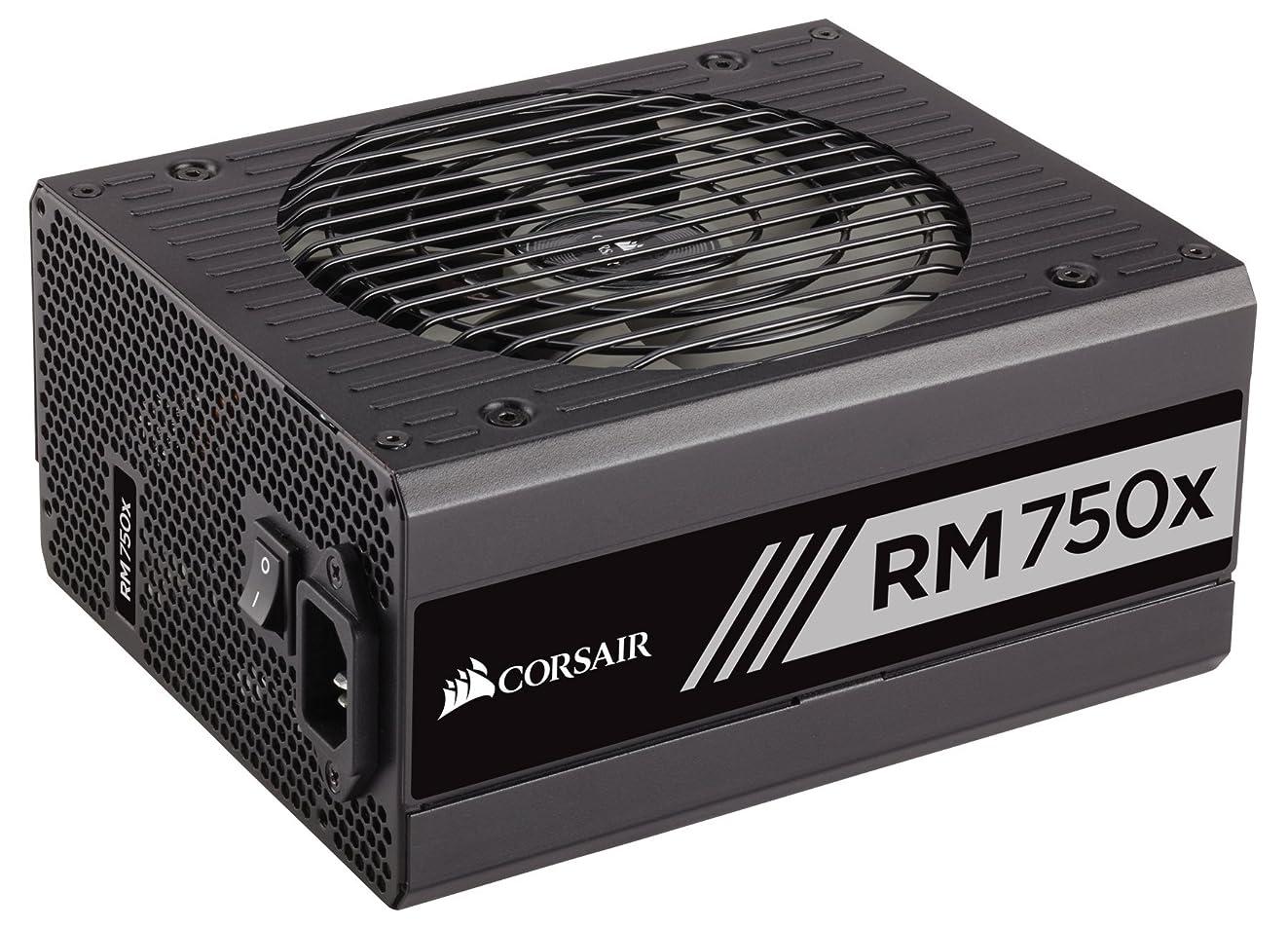 CORSAIR RMX Series, RM750x, 750 Watt, 80+ Gold Certified, Fully Modular Power Supply