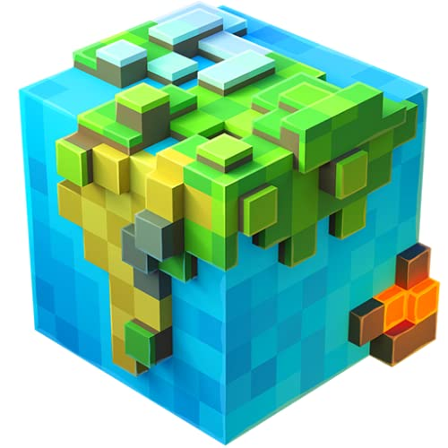 WorldCraft Premium: Block Craft Spiele mit Skins Export nach Minecraft