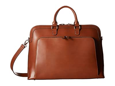 Lodis Accessories Audrey RFID Brera Briefcase With Laptop Pocket (Sequoia/Papaya) Briefcase Bags