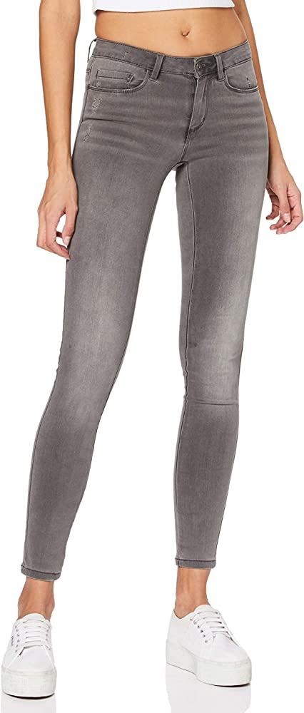 Only, jeans skinny per  donna,60% cotone, 39% poliestere, 1% elastan 15159650
