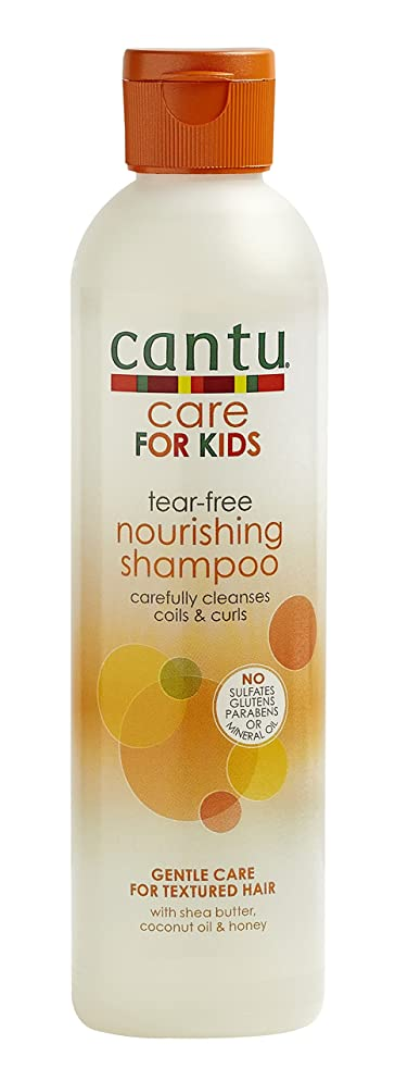 Cantu Care for Kids Tear-Free Nourishing Shampoo, 8 Fluid Ounce