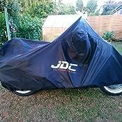 JDC Housse Moto 100/% /étanche - S Robuste, Doublure Souple, Panneaux r/ésistants /à la Chaleur, Coutures /étanch/éifi/ées Ultimate Rain