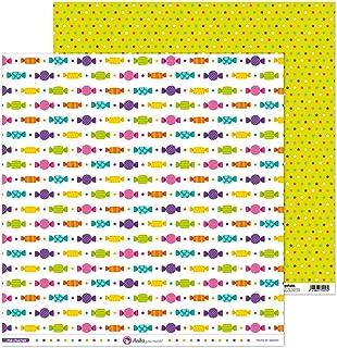 Anita y Su Mundo Collection Mis Chuches Papiers de Scrapbooking, Paper, Caramel, 30,5 x 30,5 cm