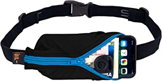 SPIbelt Running Belt Large Pocket No-Bounce Waist Pack for Runners iPhone 6 7 8-Plus X for Athletes Men and Women, Workout Fanny Pack, Adjustable One Size, Expandable Sport Pouch, Fits Big Phones