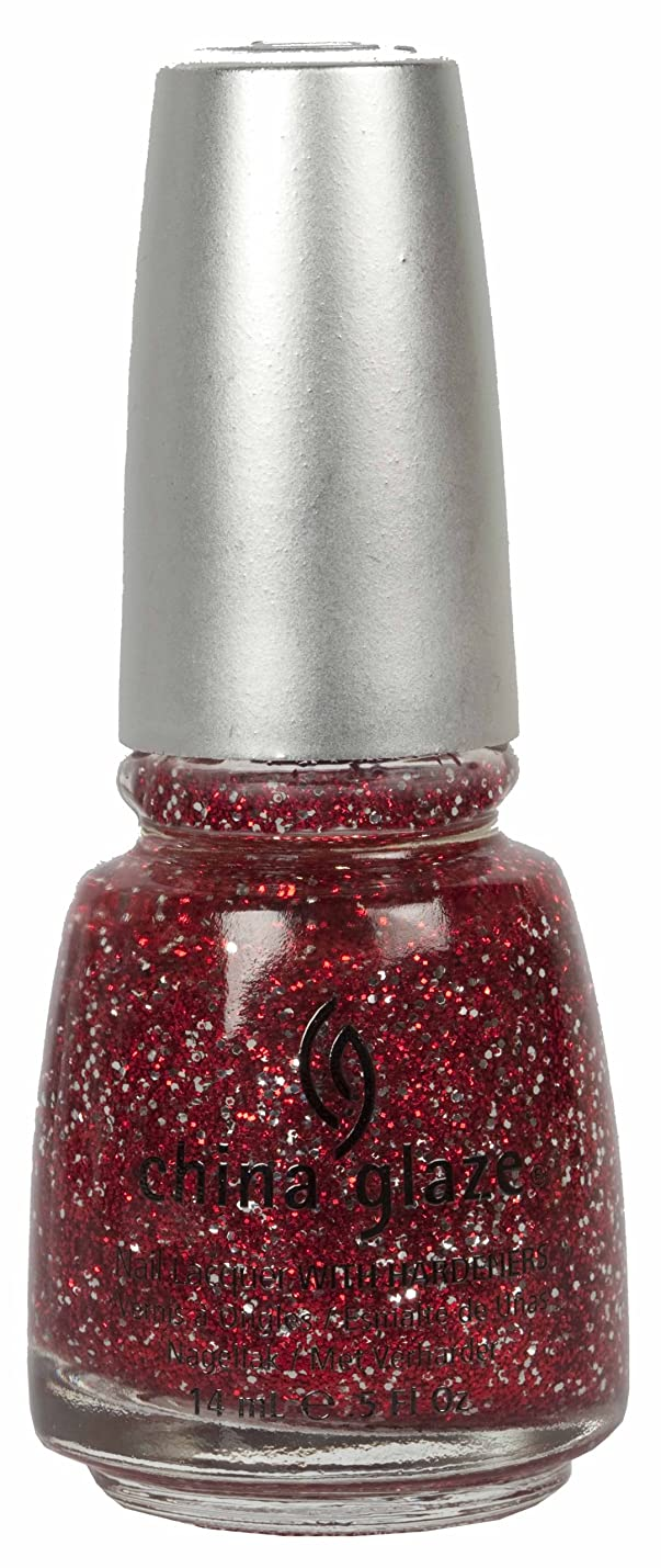 説教するホストジョージエリオットCHINA GLAZE Glitter Nail Lacquer with Nail Hardner - Love Marilyn (DC) (並行輸入品)