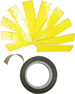 Kweiny Heat Insulation Cotton and PTFE High Temp Tape for 3D Printer Makerbot Hotend Heater Block 10PCS Cotton and A Roll of Tape for Extruder Parts Tool Kit