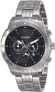 Citizen Men's AN8130-53E Silver Stainless-Steel Plated Japanese Quartz Dress Watch