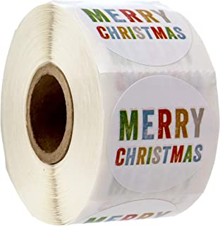 Merry Christmas Stickers/500 Christmas Tags