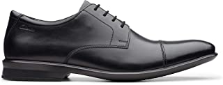 حذاء برباط للرجال من كلاركس , (اسود), 8 UK