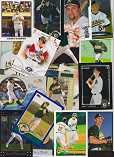 Oakland A's / 1500+ Newer baseball cards from 1993 - 2014