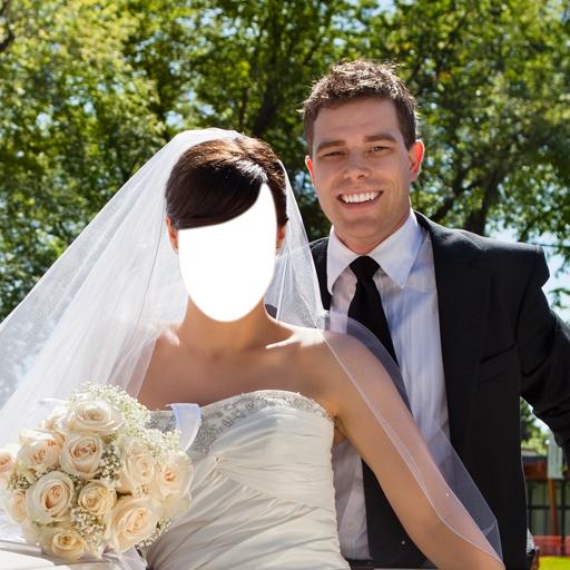 Paar Hochzeit Photo Editor