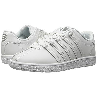 K-Swiss Classic VNtm (Little Kid) (White/White) Athletic Shoes