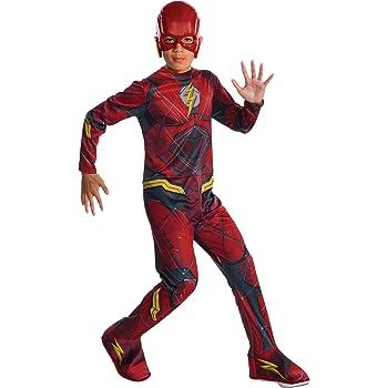 Costume da Flash Per Ragazzi Bambini Marvel DC Comics Supereroe Costume Outfit con licenza