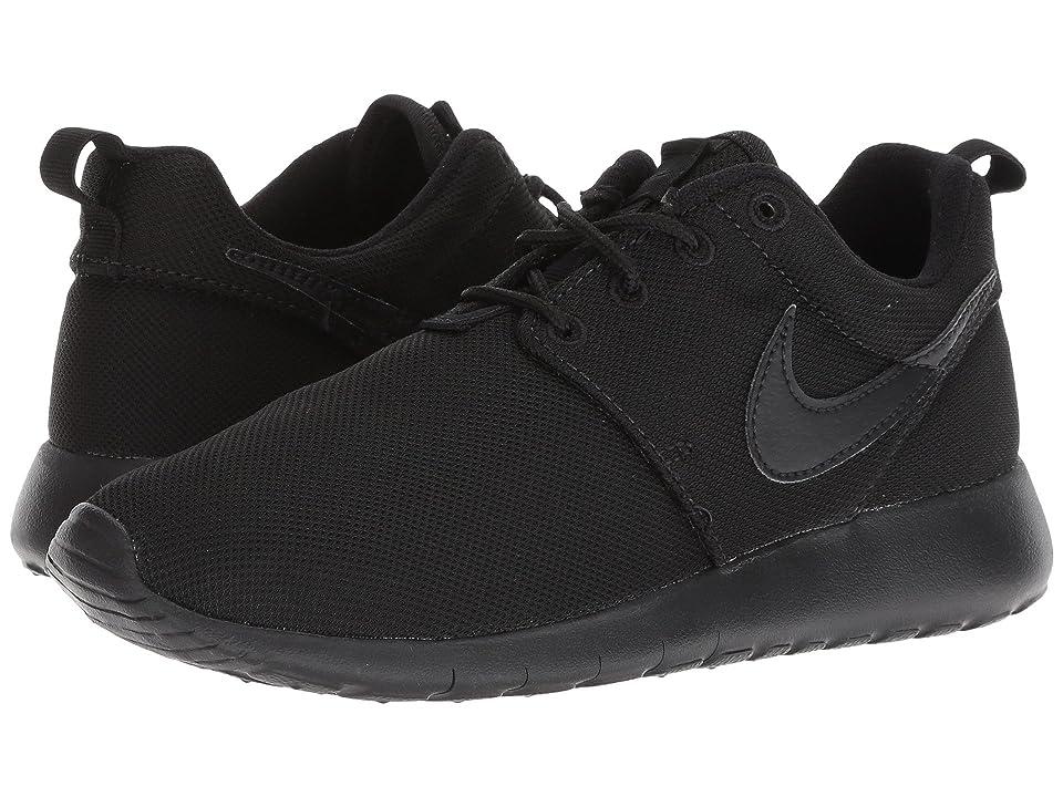 Nike Kids Roshe One (Big Kid) (Black/Black/Black) Boys Shoes