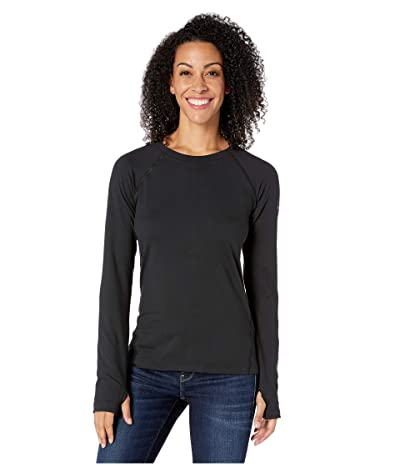 Columbia Bryce Canyontm Long Sleeve Crew (Black) Women