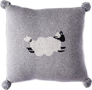 Linen Perch Baby Nursery Sheep Throw Pillow – Baby Throw Cushion Cover and Insert for Nursery Decor - Decorative Unisex La...