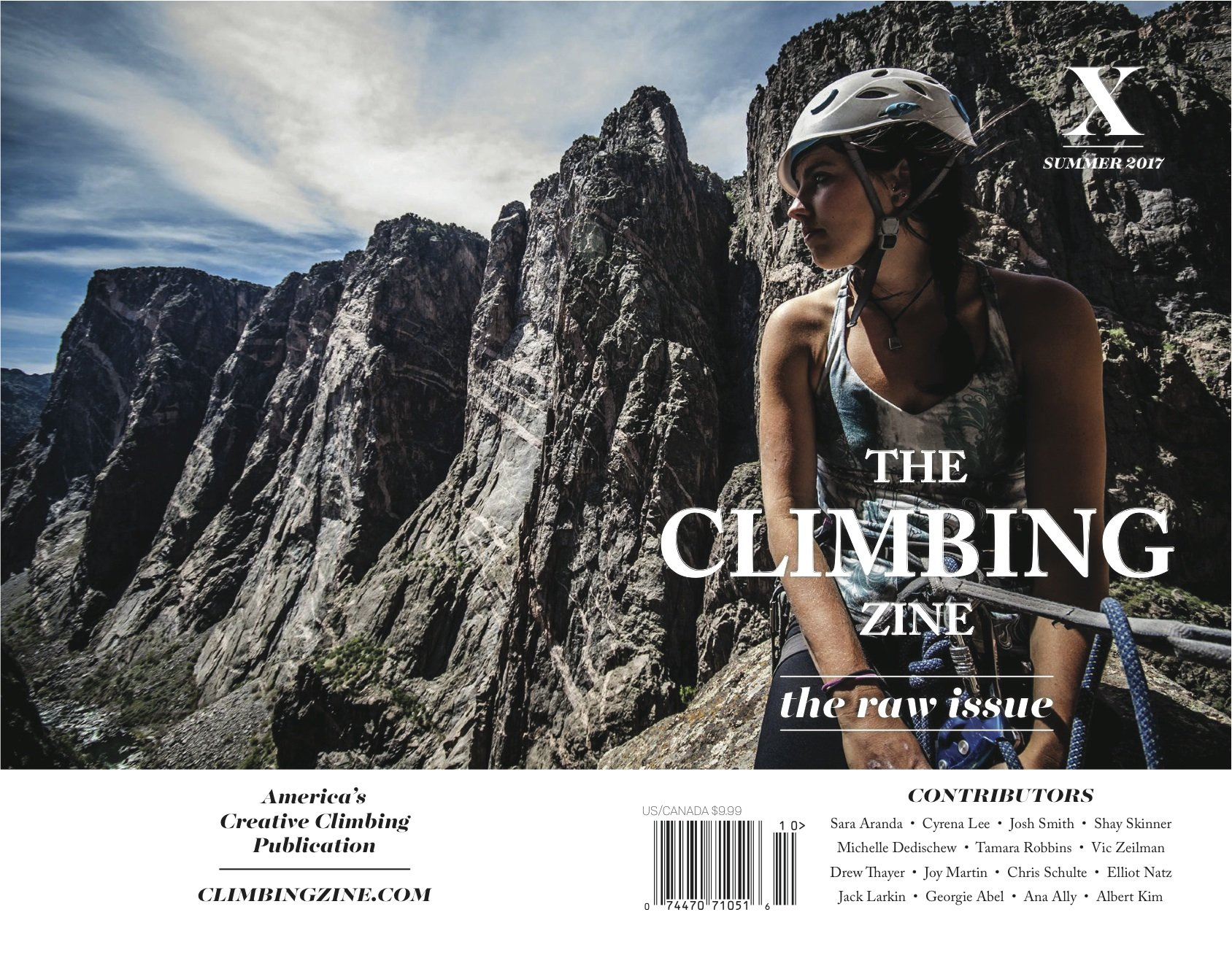 Image OfThe Climbing Zine Volume 10: The Raw Issue