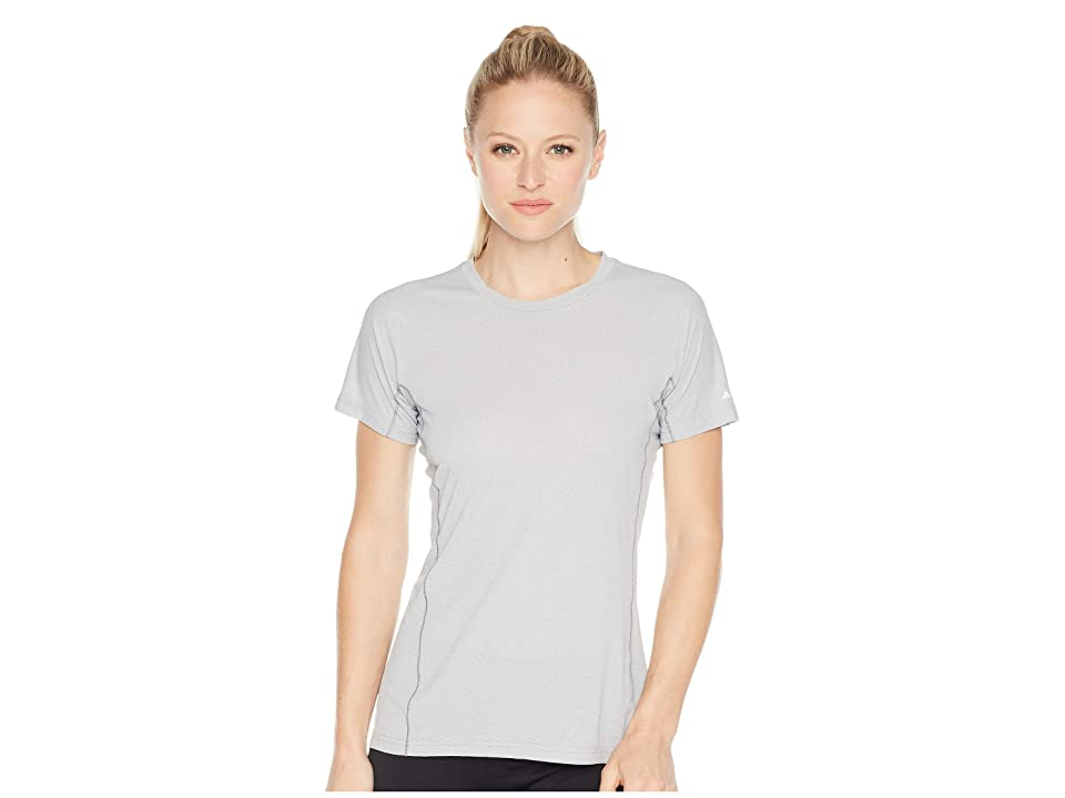 Image of adidas Outdoor Agravic Parley Tee (Grey Three) Women's T Shirt