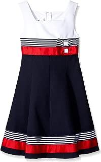 Bonnie Jean Girls' Big Colorblock Poplin Dress
