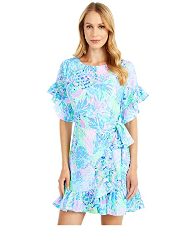Lilly Pulitzer Darlah Stretch Dress (Multi Shell Of A Party) Women