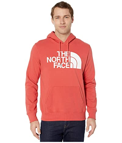 The North Face Half Dome Pullover Hoodie (Sunbaked Red) Men