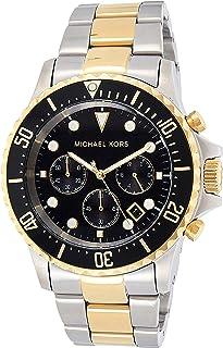 Michael Kors Mens Quartz Watch, Analog Display and Stainless Steel Strap MK8311