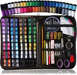 ARTIKA Sewing KIT, Over 110 Quality Sewing Supplies, Sewing kit for DIY, Beginners, Emergency, Kids, Summer Campers, Trave...