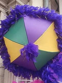 2nd line umbrellas wedding