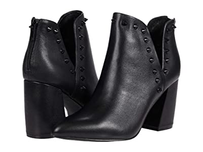 Steve Madden Glow Bootie (Black Leather) Women