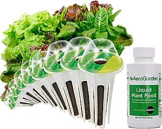 AeroGarden Heirloom Salad Greens Seed Pod Kit, 9