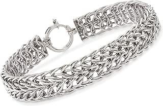 Ross-Simons Sterling Silver Sedusa-Link Bracelet