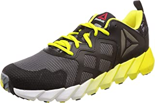 Reebok Unisex Exocage Athletic GR Blck/Gry/Yellow/Wht Running Shoes-6.5 UK (39 EU) (7 Kids US) (AR1669)