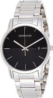 Calvin Klein Mens Quartz Wrist Watch, Analog and Stainless Steel- K2G2G14C