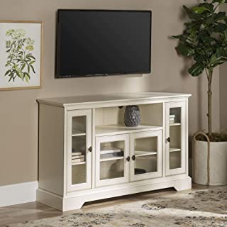 WE Furniture Traditional Wood Stand for TV's up to 56