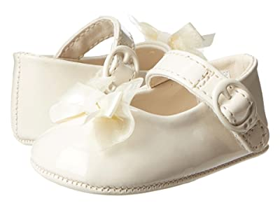 Baby Deer Skimmer Mary Jane (Infant) (Ivory Patent) Girls Shoes
