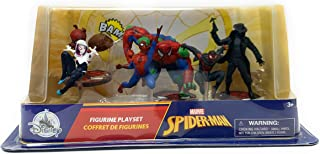 Marvel Spider Man Figurine Playset - Comes with 6 Figurines in Striking Poses - Collect and Put on Display - Marvel Spider...