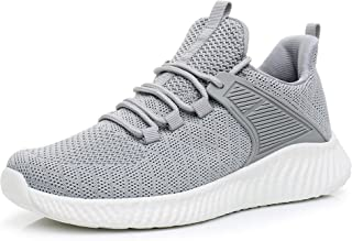 Womens Lightweight Running Shoes - Breathable Comfortable Slip-on Sneakers for Walking, Tennis, Gym, Casual Workout, Driving