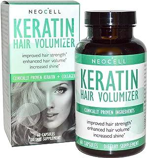 Keratin Hair Volumizer, 60 Capsules (usa)