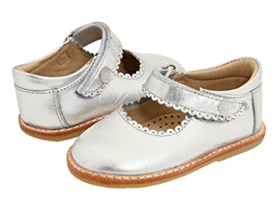 Elephantito Mary Jane (Toddler) (Silver) Girls Shoes
