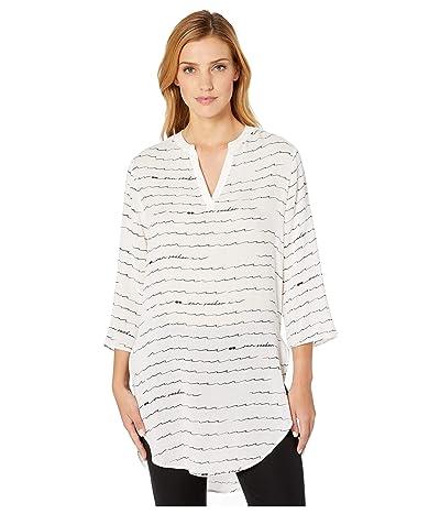 NIC+ZOE Beach Cruiser Tunic Dress (Paper White) Women
