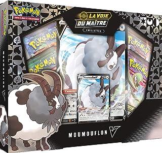 Pokémon Coffret Moumouflon-V Voie du Maître-Jeu de Cartes à Collectionner, POKSEP3501
