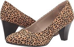 Leopard Suedette