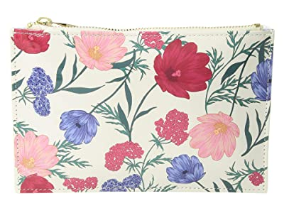 Kate Spade New York Blossom Pencil Pouch (Multi) Travel Pouch