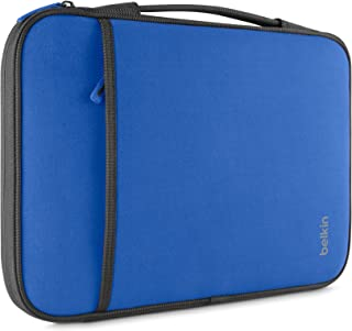 Belkin Laptop Sleeve for Surface Pro, MacBook Air, Chromebook, and Other 11-Inch Devices (Blue)
