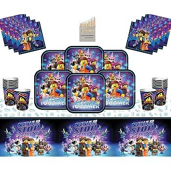 Bodas Juguetes para Fiestas de Cumplea/ños .Vajillas y Complementos Lote de Cubiertos Infantiles Desechables Transformers CAPRILO 32 Vasos, 32 Platos y 40 Servilletas Bautizos y Comuniones.