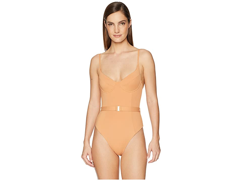 onia WeWoreWhat x onia Danielle One-Piece (Solid Nude) Women