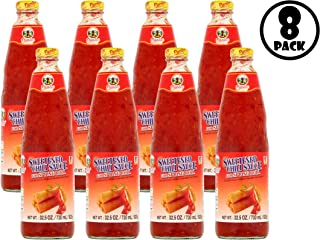 (8 Pack) Pantai Norasingh Sweetened Chili Sauce for Spring Roll, 32.5 oz