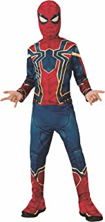 Rubies Iron Spider Infinity War - Disfraz  para niño, M (5-7 años)